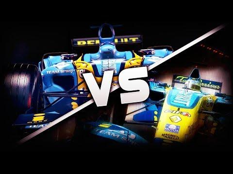 F1 2017 Classic Renault R26 vs F1 2006