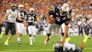 2011 BCS Title Game Auburn vs Oregon No Huddle