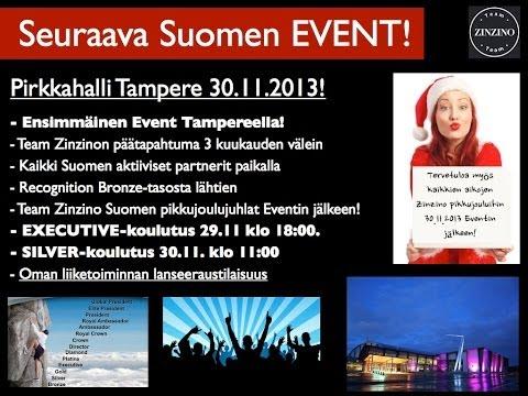 Team Zinzino Finland Event 1.9.2013 @Logomo, Turku Finland