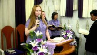 Pregadora Eliza.2 ASSEMBLÉIA DE DEUS.