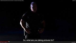 US Border Patrol & Tribal Police revoke First Amendment - No Filming from Public Highway, Starlight