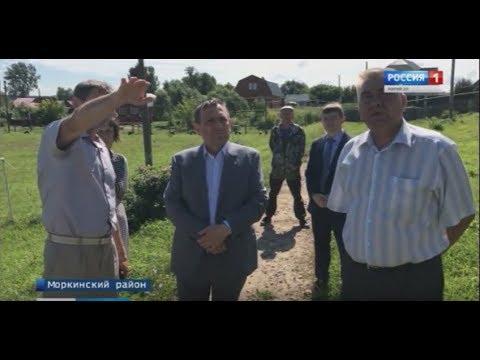 Без предупреждения – Моркинский район неожиданно посетил Александр Евстифеев - Вести Марий Эл