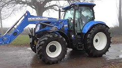 Euro Plant Finder New Holland T7. 225 tractor