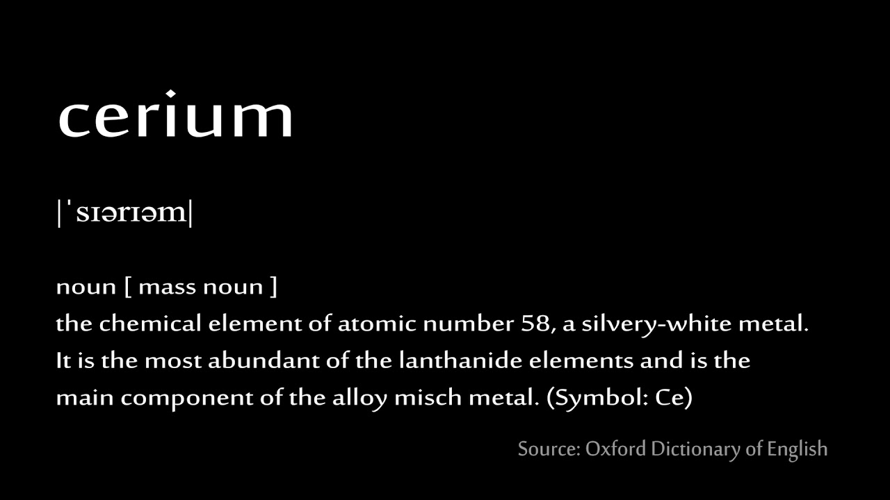 58 cerium how to pronounce chemical elements periodic table 58 cerium how to pronounce chemical elements periodic table urtaz Image collections