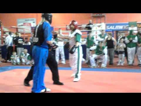 Ian Golder WKF WC 2014 masters Point Fighting