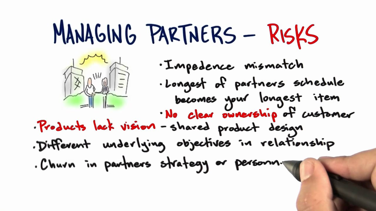 Managing Partners Risks - How to Build a Startup