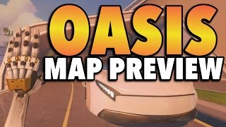 Overwatch NEW MAP: Oasis - First Look
