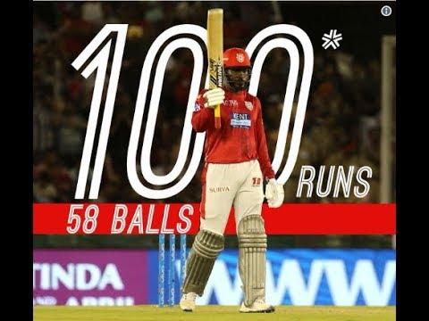 IPL 11 - Kings XI Punjab Vs  Sunrisers Hyderabad