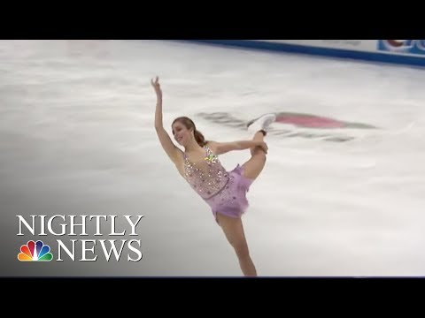 U.S. Olympic Figure Skating Team Announced | NBC Nightly News