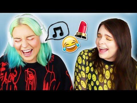 MUSIK MAKE UP BATTLE ⚔️- singen oder STRAFE! 😂🎶SONG CHALLENGE mit Naomi Jon!