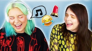 MUSIK MAKE UP BATTLE ⚔️- singen oder STRAFE! 😂🎶SONG CHALLENGE mit Naomi Jon!
