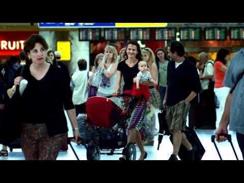 The international airport Prague - Ruzyne