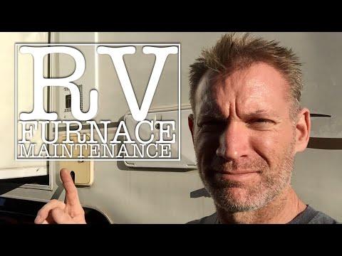 RV Furnace Maintenance Truck Camper