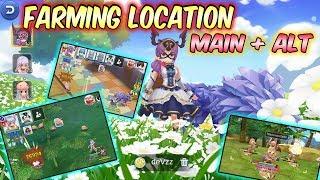 My Latest Farming Location | Main and ALT | Ragnarok Mobile Eternal Love
