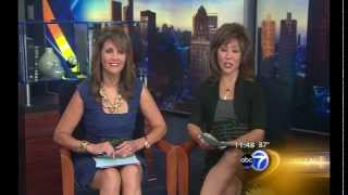 KIDWINKS on ABC-7 talking about summer fun ideas and free, kid-friendly events around Chicago