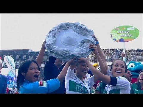 شاهد كيف فاز مشردو ومشردات المكسيك بكأس العالم  - نشر قبل 24 ساعة