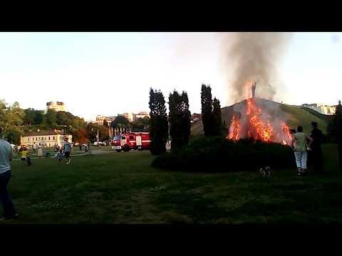Типичные Черкассы: Пожар в Долине Роз 19.07.2017