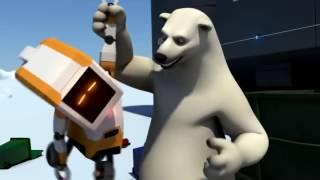 Мультфильм про Робота и Белого медведя