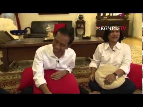 Dibilang Ndeso Iriana Cubit Mesra Jokowi - Kompas Petang 27 Juli 2014