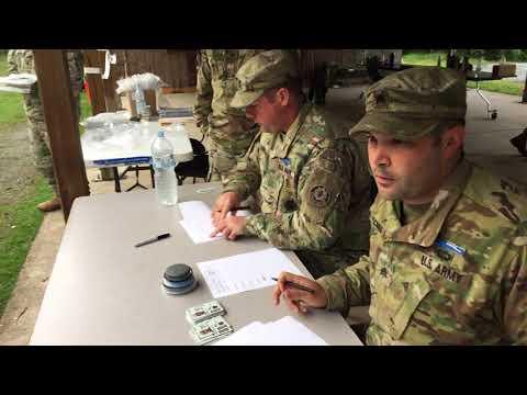Expert Infantry Badge (EIB) 2017, Land Navigation (2d Cavalry Regiment)