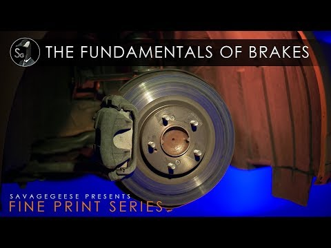 The Fundamentals Of Brakes | Fine Print Series