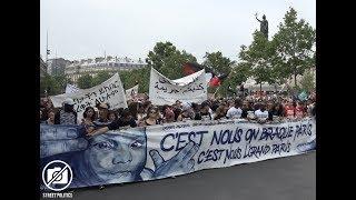 Marée Populaire à Paris : le Comité pour Adama mène le cortège de tête - 26 Mai 2018
