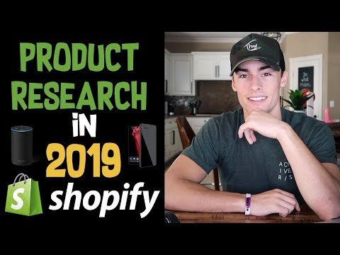 How I Find $1000/ Day WINNING Products | Shopify Dropshipping 2019 | Easy Product Research Guide thumbnail