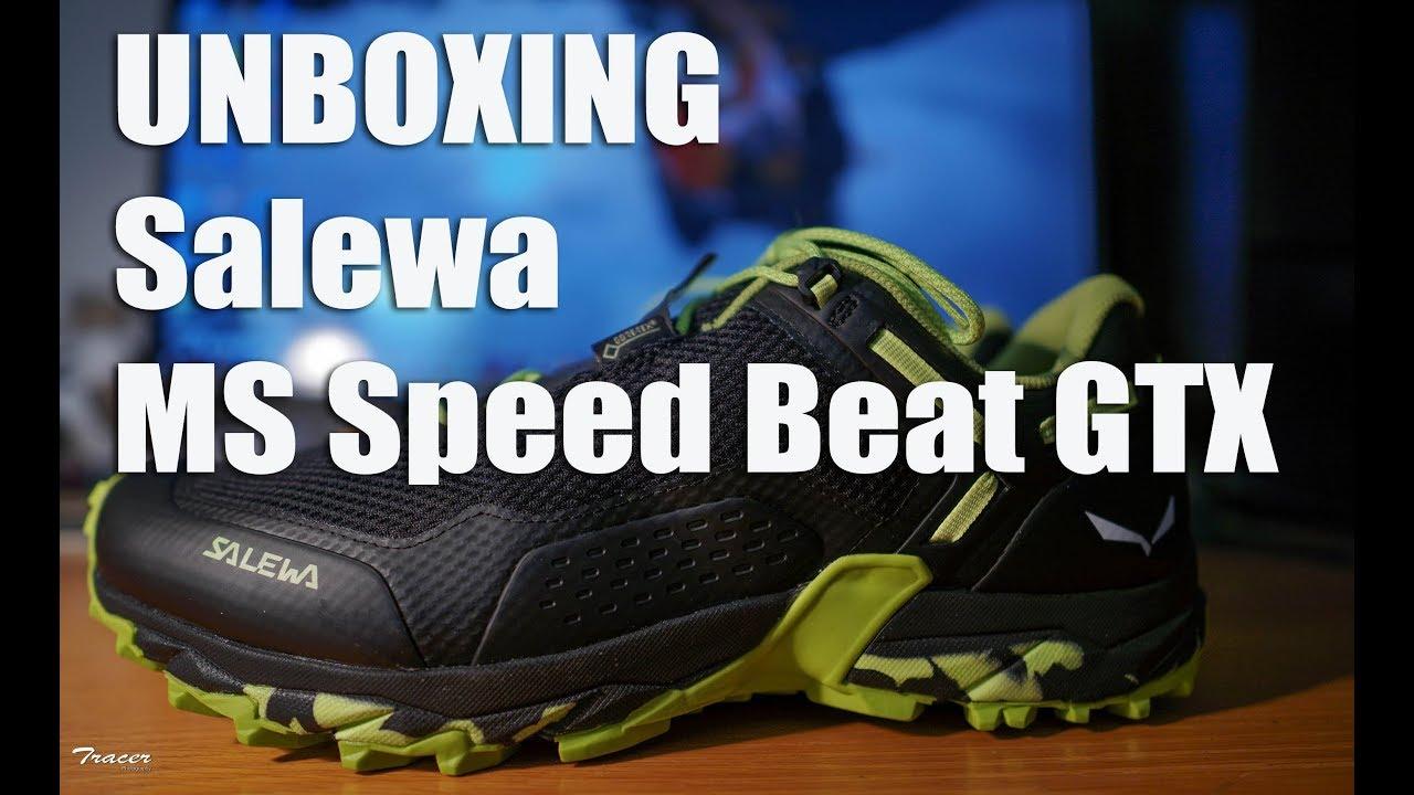 Unboxing Salewa MS Speed Beat GTX