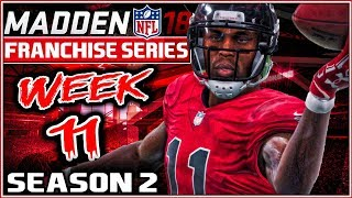 Madden 18 Franchise Mode Year 2 Week 11 - Atlanta Falcons vs Baltimore Ravens
