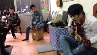 Nỗi nhớ vô hình - Huy acoustic and friend