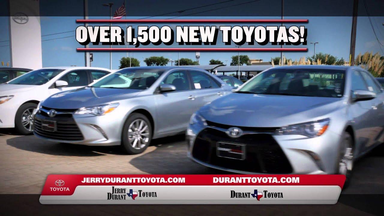 Jerry Durant Toyota 2015 Toyotathon Year End Truck Specials