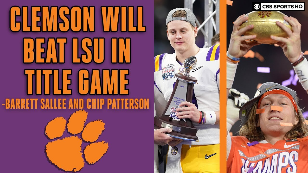Who Won Lsu Or Clemson >> 3 Clemson Vs 1 Lsu National Championship Preview With Expert Picks Cbs Sports Hq