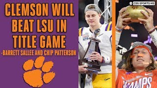 #3 Clemson Vs #1 Lsu National Championship Preview With Expert Picks | Cbs Sports Hq