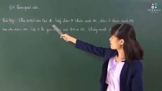 [Toán 7] Luyện tập về tam giác cân - Bài 2