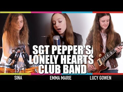 Tribute to Sgt Pepper by Emma Marie, Lucy Gowen & Sina