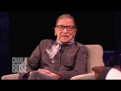 Ruth Bader Ginsburg 'Yes, I've heard of The Notorious B.I.G.' (Sep 27, 2017) | Charlie Rose