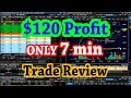 $120 Profit in 7 min   Day Trade Review $TIS