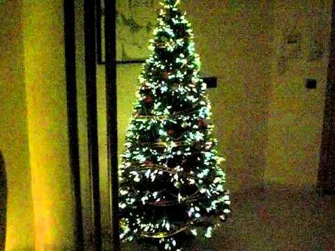 Albero Di Natale Fibra Ottica 180 Cm.Albero Di Natale Fibra Ottica Youtube