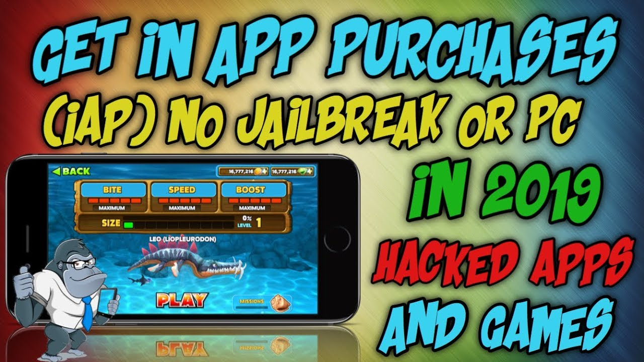 GET IN APP PURCHASES FREE 2019 NO JAILBREAK OR PC / GET HACKED GAMES FREE  ON iOS 9,10,11,12 FREE IAP