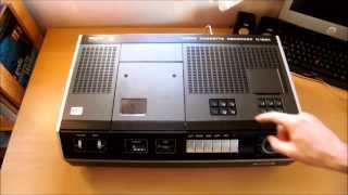 Old VCR - Philips N 1501 N1501 (Cleaning And Testing)