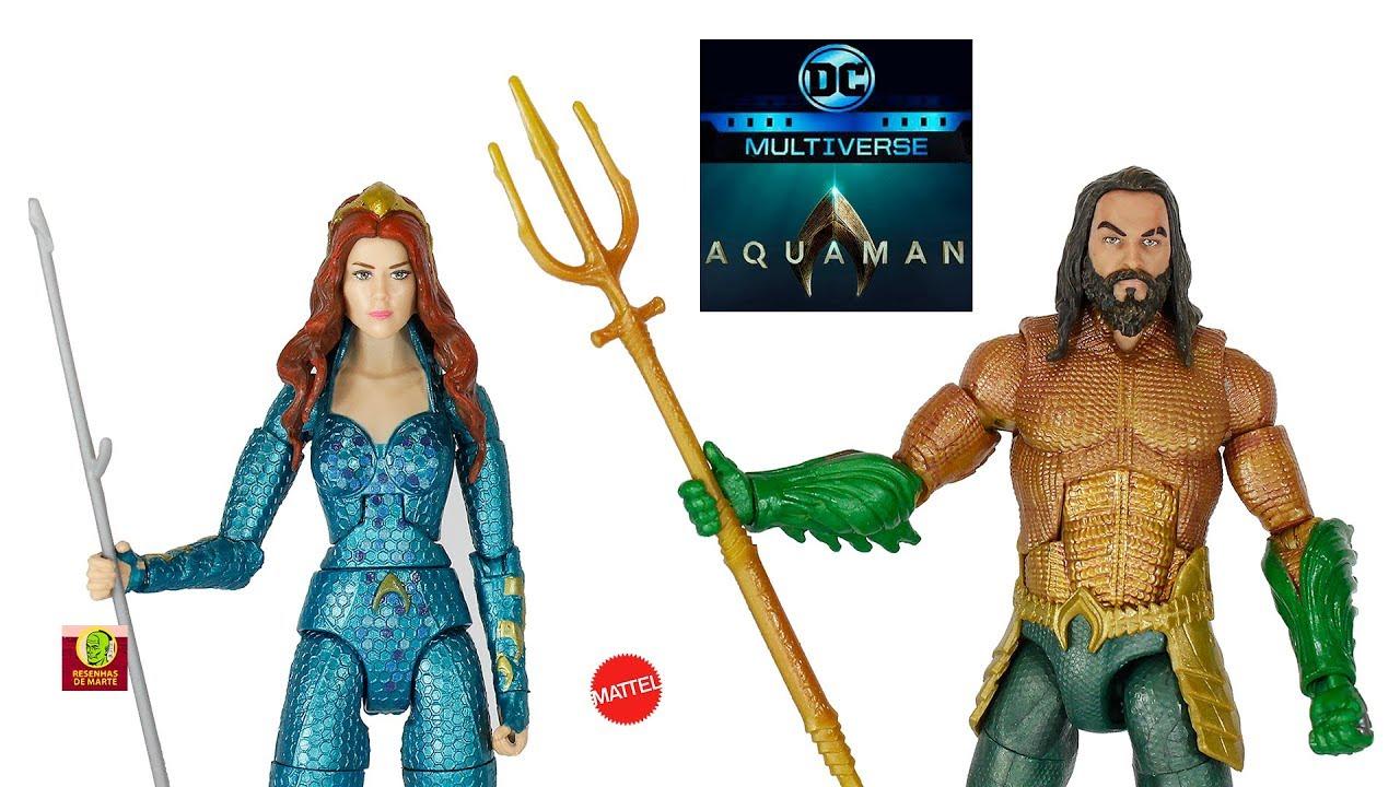 DC Comics Multiverse Trench Warrior Series Aquaman Legion of Doom Black Manta