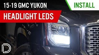 homepage tile video photo for 58% Brighter High Beams for your 2015-2019 GMC Yukon! | Headlight Bulb Install