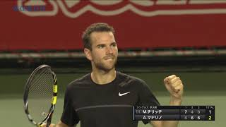 20171007 Rakuten Japan Open Highlight for Main Draw Day 6