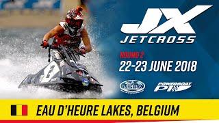 2018 P1 Jetcross World Pro Tour Round 2: Eau d'Heure Lakes, Belgium
