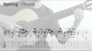Spring / Vivaldi (Guitar) 春 / 韋瓦第 (吉他)