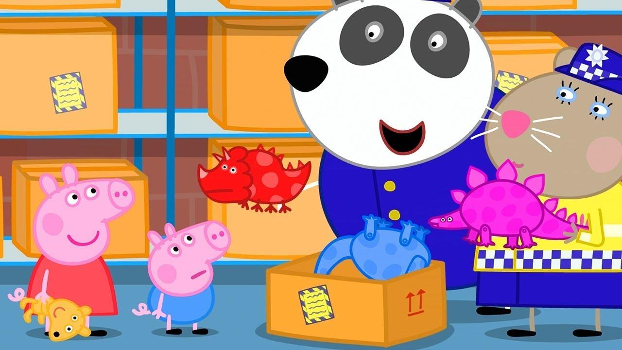 Peppa Pig Full Episodes Police Station Cartoons For Children