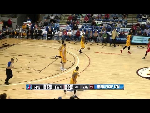 Highlights: Abdel Nader (23 points)  vs. the Mad Ants, 4/4/2017