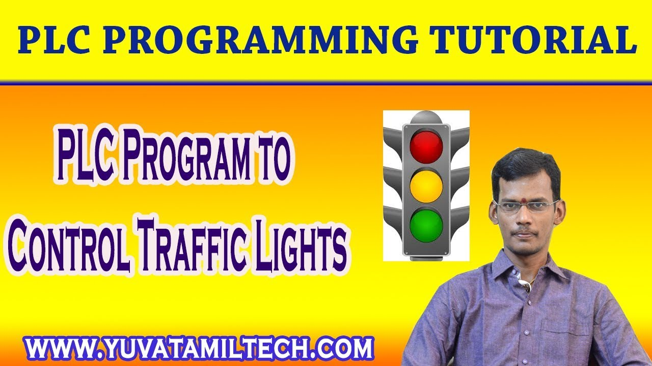 Plc Program To Control Traffic Lights In Ladder Logic Youtube Diagram Example