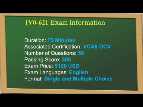 [Latest] Passtcert VMware VCA6-DCV 1V0-621 Exam Real Questions