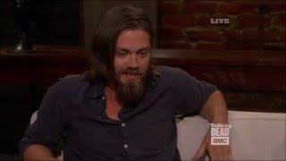 Talking Dead - Tom Payne (Jesus) on his character